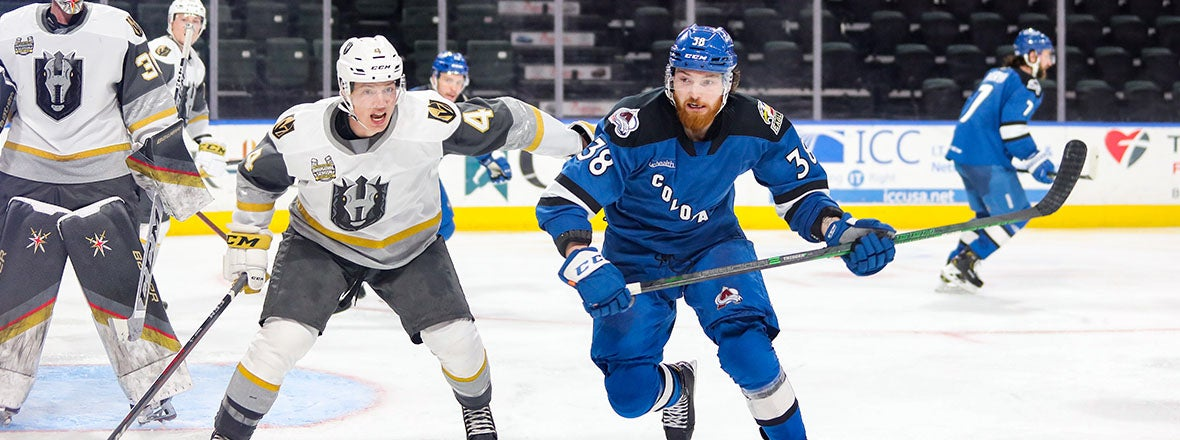 Colorado Tripped Up By Silver Knights 4-1