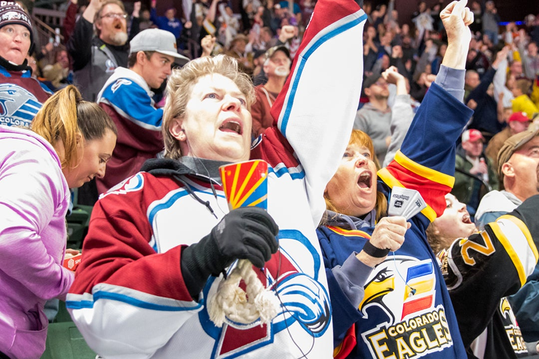 Cheer on Your Eagles in the NHL | Colorado Eagles 62