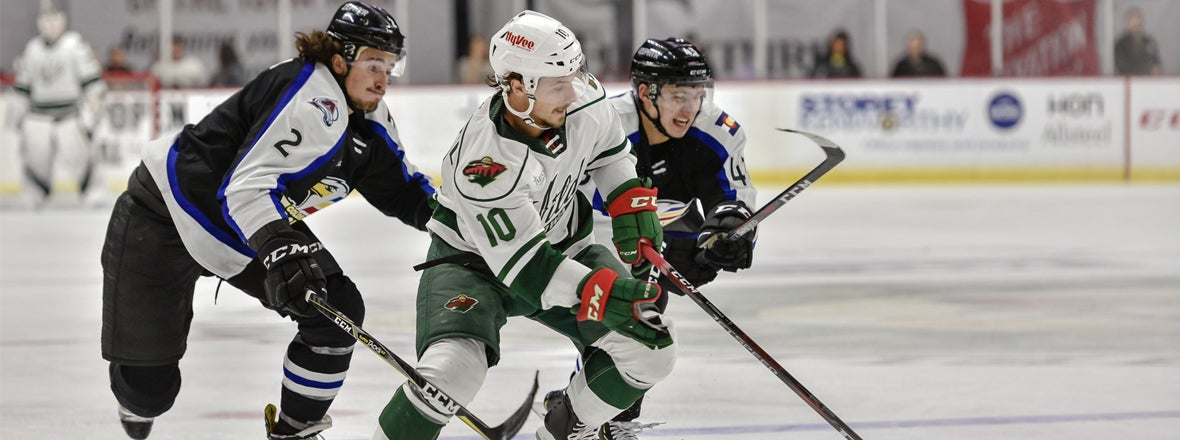 AHL: Greenway's Hat Trick Paces Iowa In 6-1 Win Over Eagles
