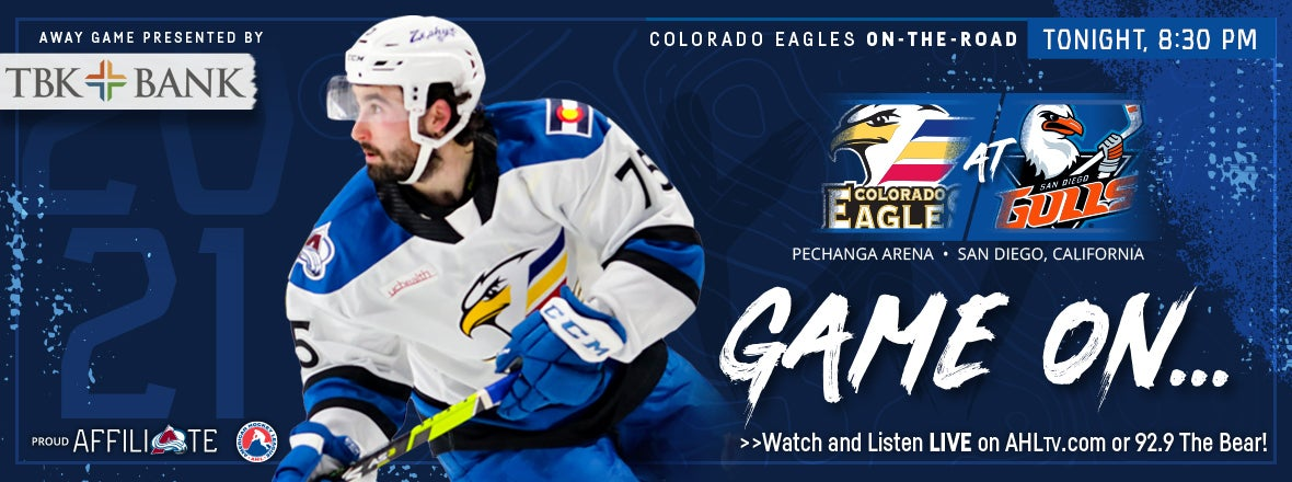 EAGLES WRAP-UP ROAD TRIP AGAINST THE GULLS