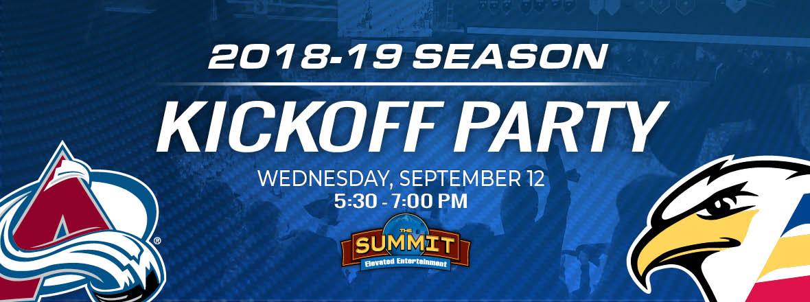 Season Kickoff Party