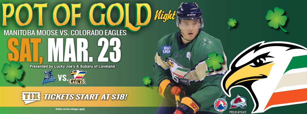 "Colorado Eagles Announce Eighth Annual ""Pot of Gold"" Recipient ... 300b27aba"