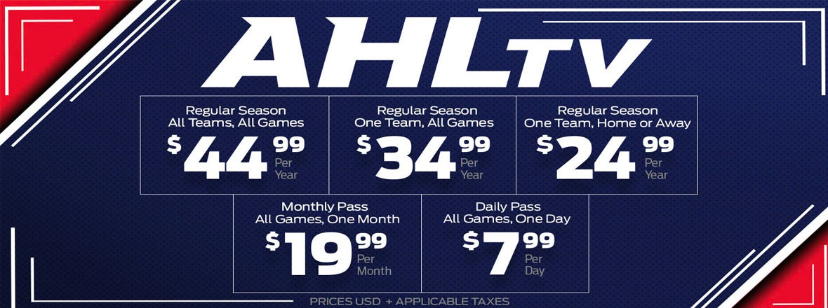 AHLTV Packages Available Now