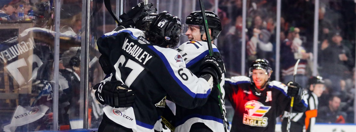 Eagles Score Three Unanswered to Secure 4-1 Win