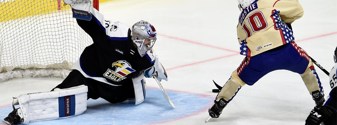 Gulls Fend Off Eagles for 3-2 Win