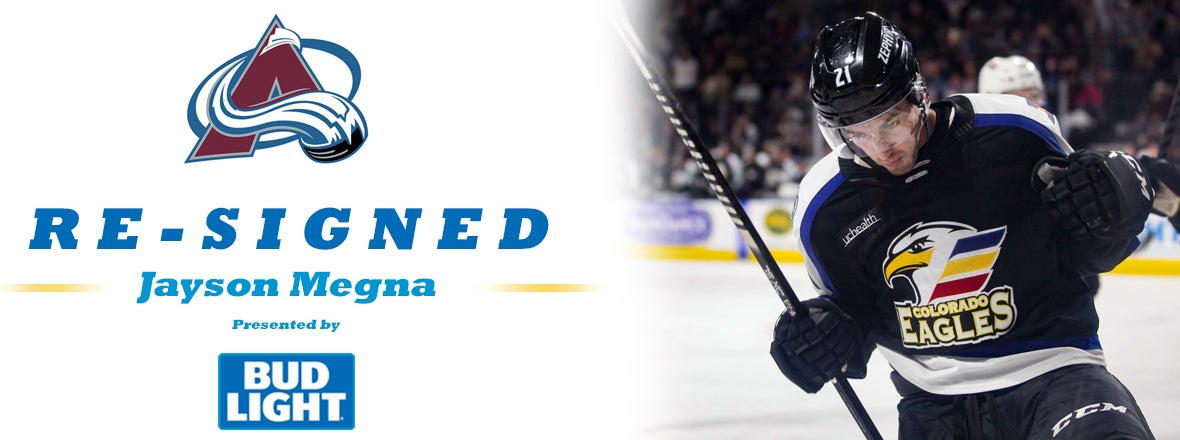 Megna Re-Signs with Colorado