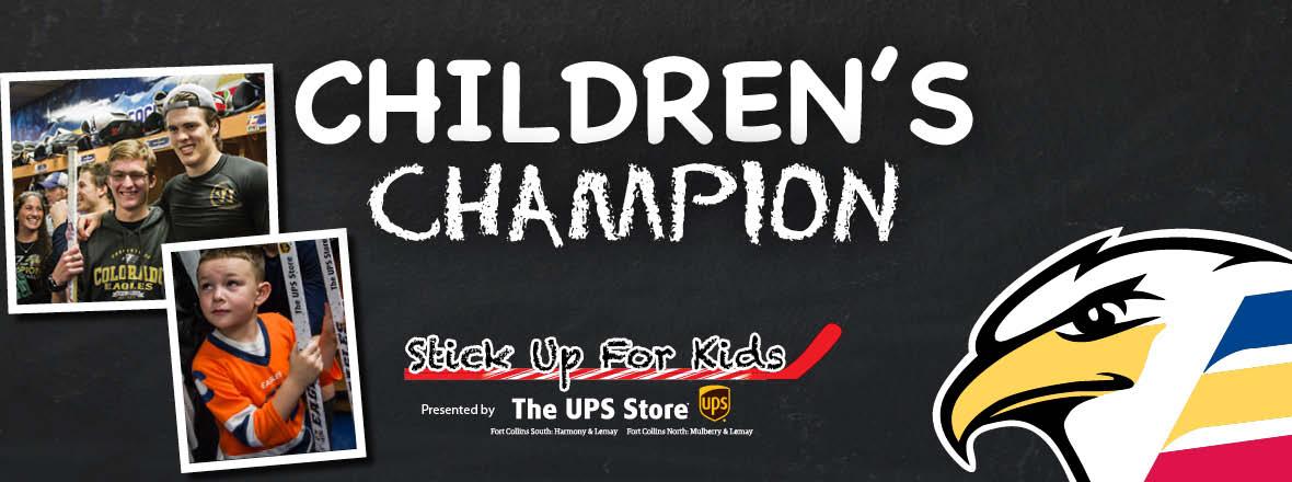Nominate a Children's Champion