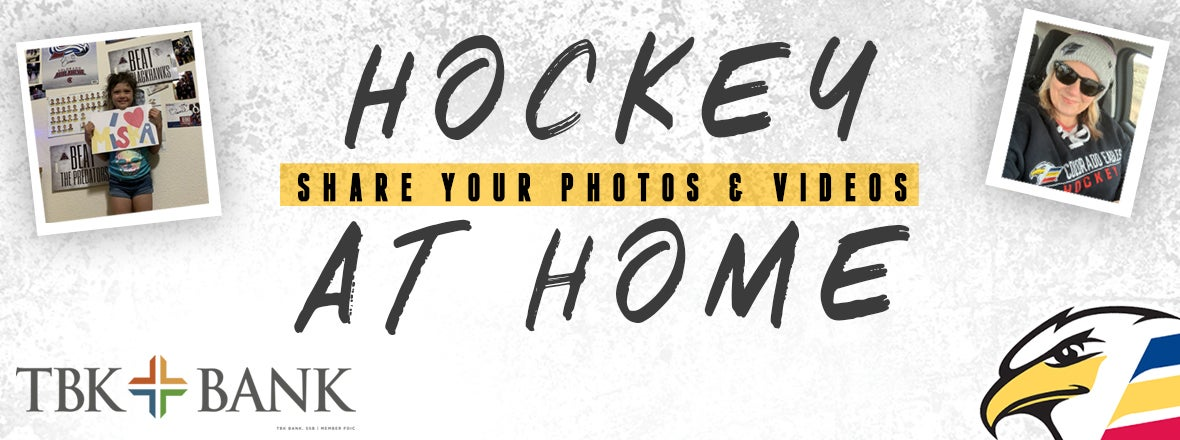 Submit Your Hockey At Home Photos & Videos