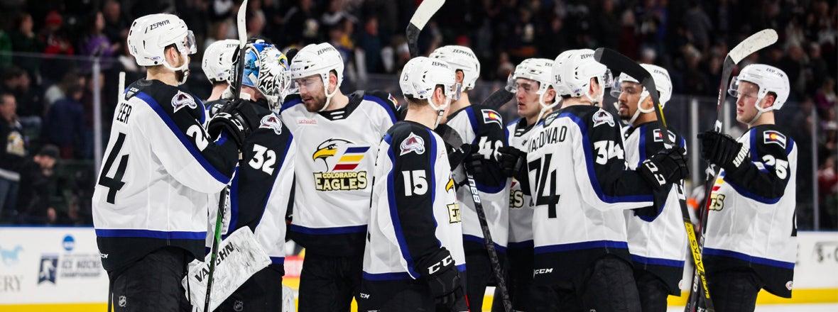 Eagles 12-Game Point Streak
