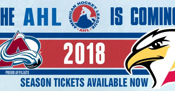 STEPPING UP TO THE AHL THUMB