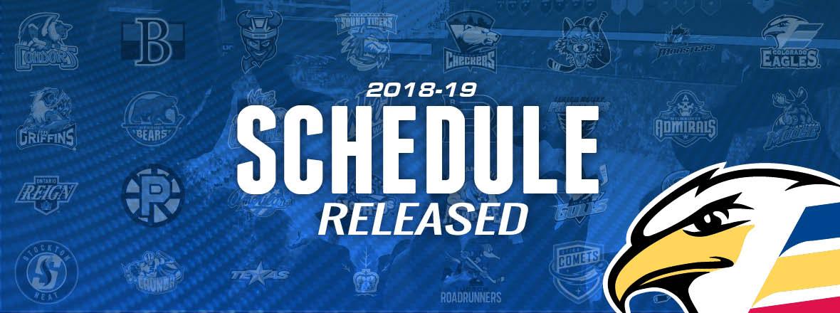 Eagles Announce 2018-19 Regular Season Schedule