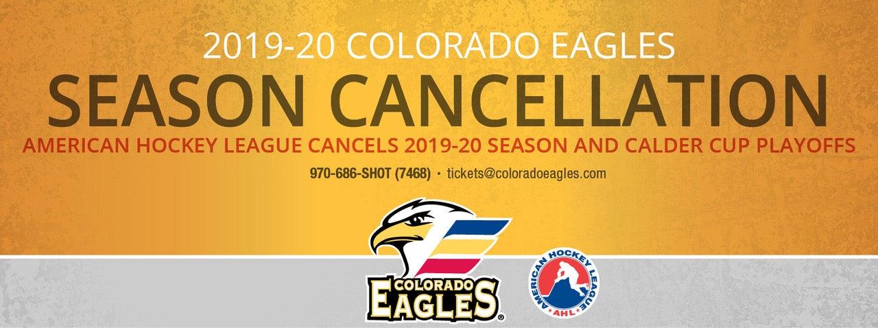 Eagles Statement on 2019-20 Season Cancellation