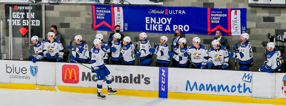Vecchione's Hat Trick Pushes Eagles to 7-5 Win