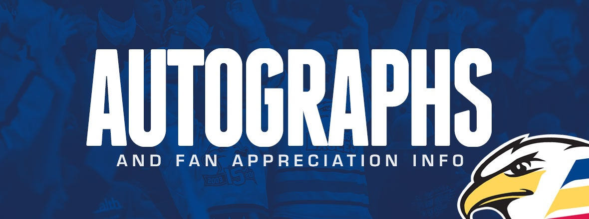 Fan Appreciation Night Autographs & Game Details