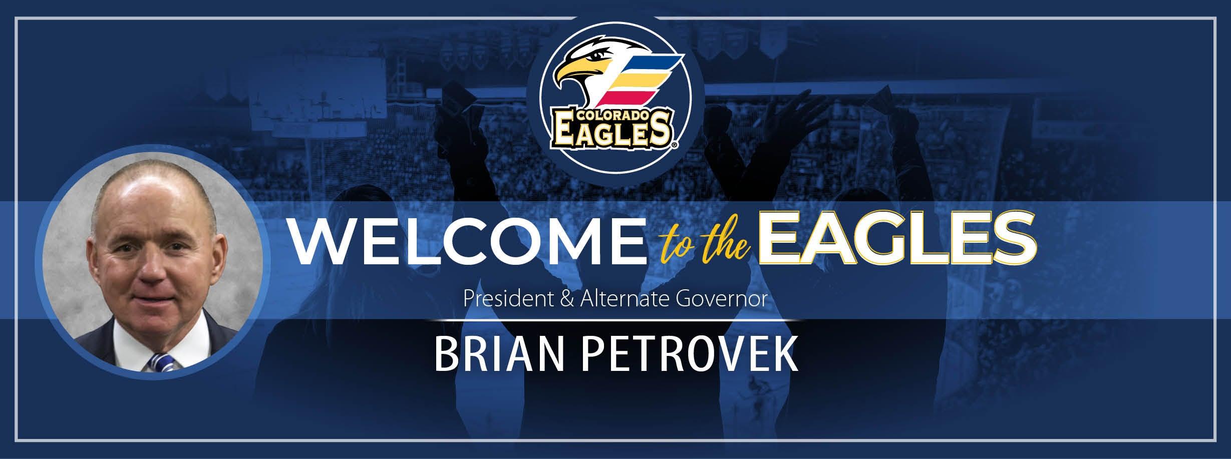 Brian Petrovek Named President and Alternate Governor