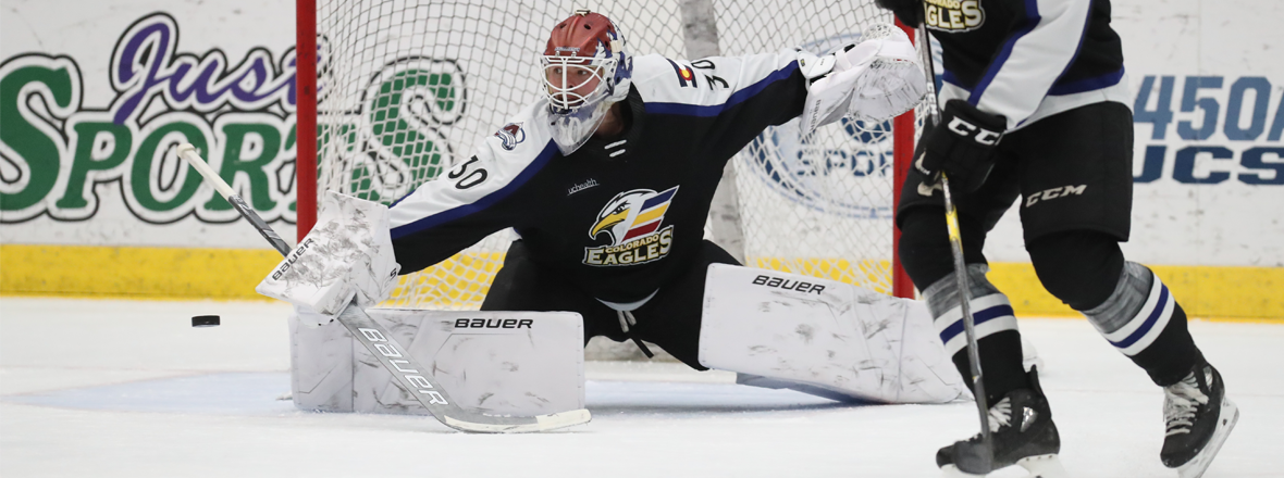 Martin Shines In Net As Eagles Shut Out Roadrunners