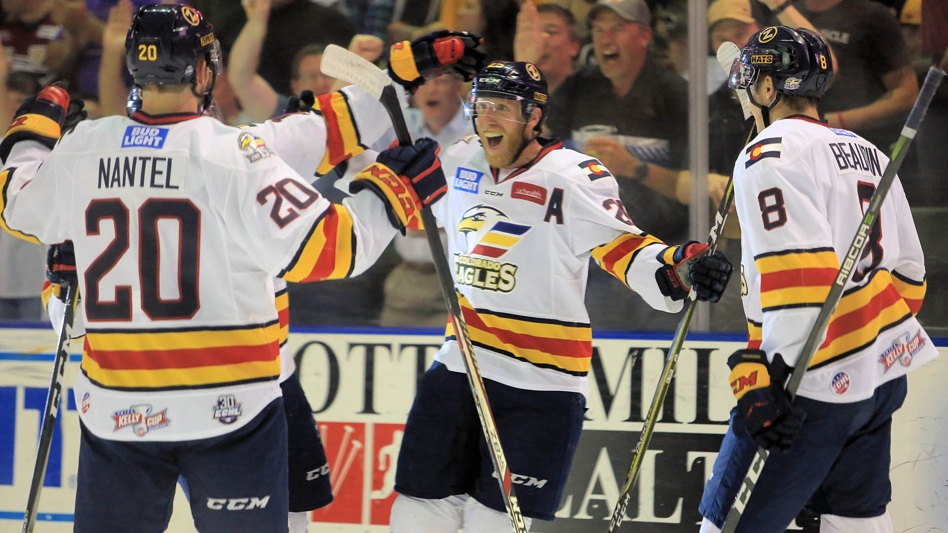 Eagles Force Game 7 in Kelly Cup Finals